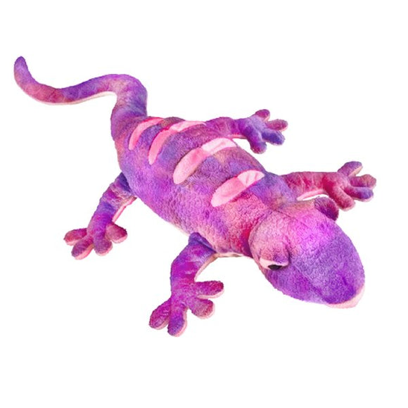 This bright coloured incredibly soft and huggable Lizard cuddly plush toy measures 52 cm and is suitable for all ages.  CE tested and certified and made from high quality materials delivering you a superb product that will be cherished for years