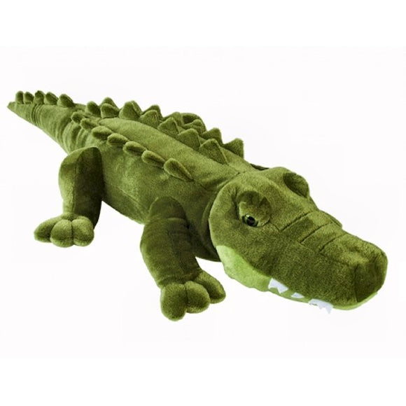 This super size super soft high detail Crocodile cuddly soft toy measures 80 cm long and is very huggable. Suitable for all ages.  CE tested and certified and made from high quality materials delivering you a superb product that will be cherished for years.