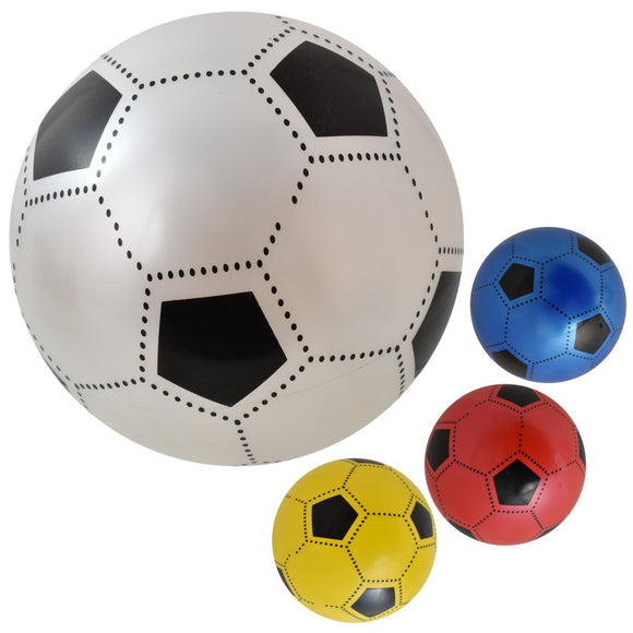 8 Inch Soft Lightweight PVC Plastic Football - Un-inflated - Summer Ball Toy