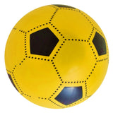 Yellow 8 Inch Soft Lightweight PVC Plastic Football - Un-inflated - Summer Ball Toy
