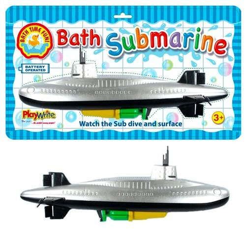 Battery Operated Submarine Bath Time and Paddling Pool Toy