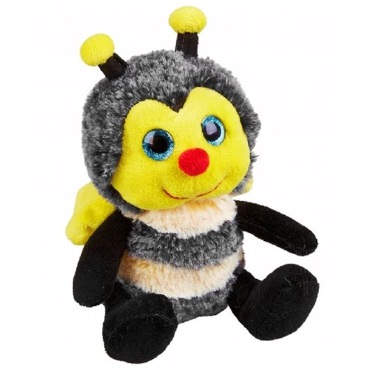 20cm cute smiling bumble bee cuddly plush toy