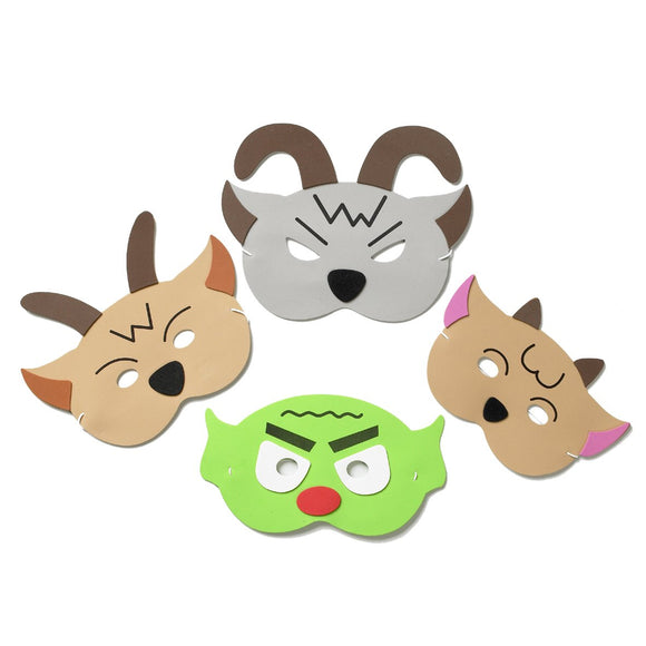 Billy Goats Gruff Story Time Mask Set