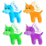Bright Colour Elephant 13cm Cuddly Plush Soft Toy gift party bag filler favor