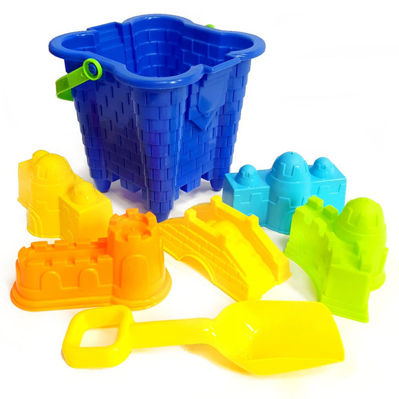 7pc Bucket and Spade Toy Set