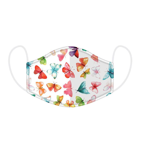 Butterfly House Reusable 2 layer Face Mask Covering - Large 23 cm x 13 cm