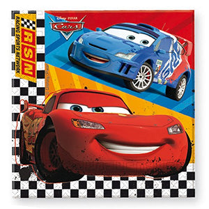 Disney Cars RSN Pack of 20 Paper Napkins