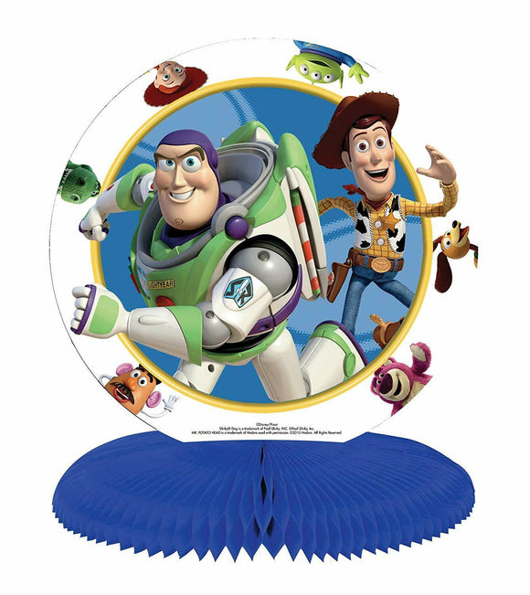 Disney Pixar Toy Story Honeycomb Table Centerpiece - Party Decorations