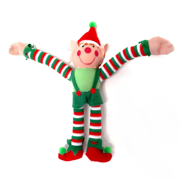 Christmas Naughty Elf with Velcro Hands Fun Stocking Filler