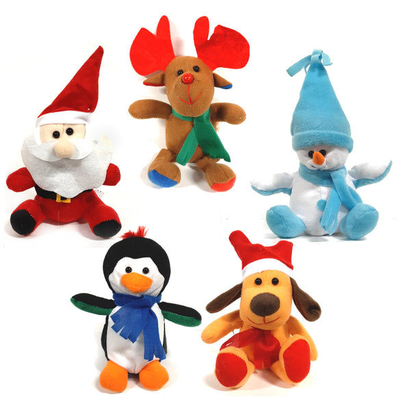 Christmas Plush Soft Cuddly Toys Stocking Fillers