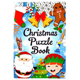 Christmas Puzzle Book A6, Fun Stocking Filler or Gift