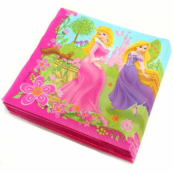 Disney Princess Paper Napkins Party Tableware