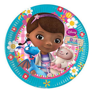 Doc McStuffins Small Paper Party Plates