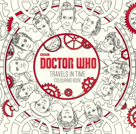 BBC Doctor Who Adult Colouring Book