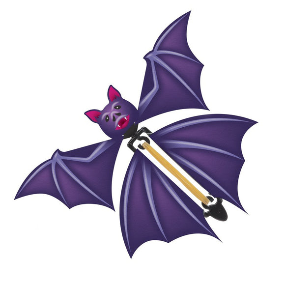 Flapping Bat Flying Pocket Money Halloween Toy