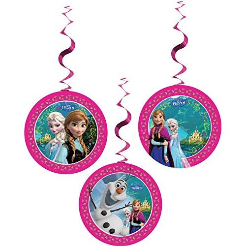 Disney Frozen Hanging Swirl Party Decorations