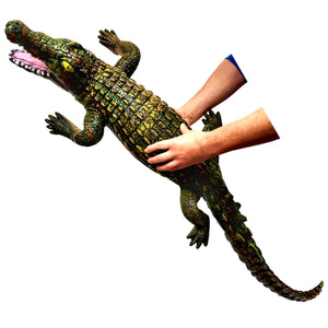 120cm Soft Rubbery Crocodile Toy Gift Decoration