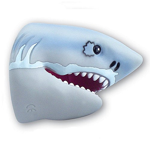 Great White Shark Adult and Child Rubber Hand Puppet
