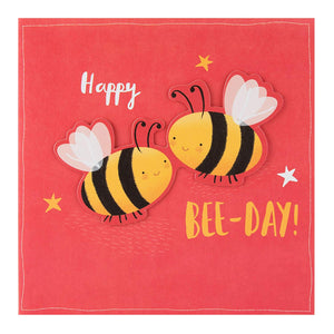 Happy Bee Day, Bee themed birthday card by Hallmark