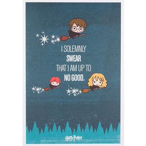 Harry Potter I solemnly swear I am up to no good Hallmark Birthday Card