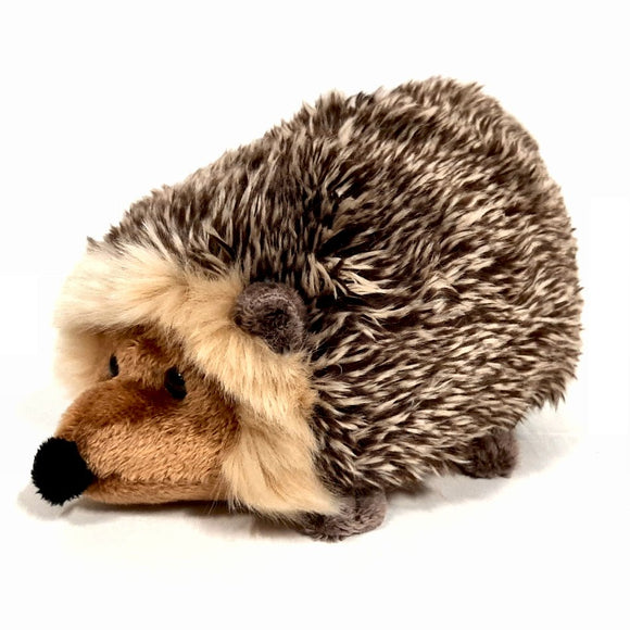 This cuddly hedgehog soft toy measures 16cm long and is CE approved for all ages (0+).