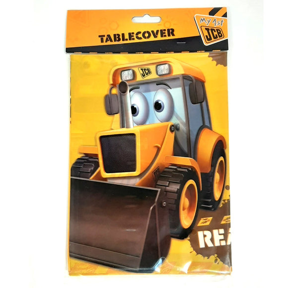 My 1st JCB Table Cover