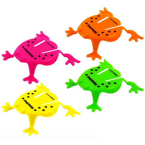 Jumping Frog Pocket Money Toy Party Bag Filler Favor
