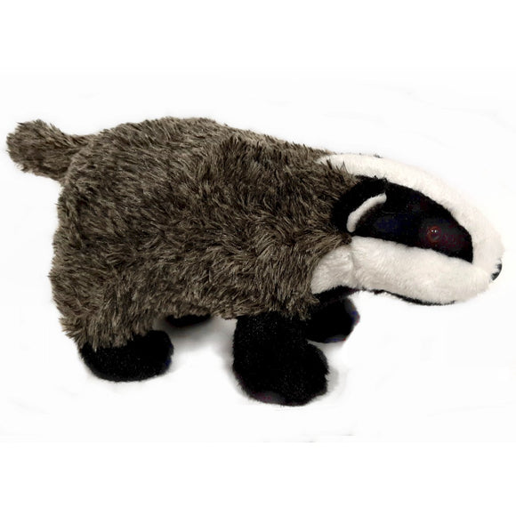 This Badger cuddly soft toy measures 25cm long and is CE approved for all ages (0+)