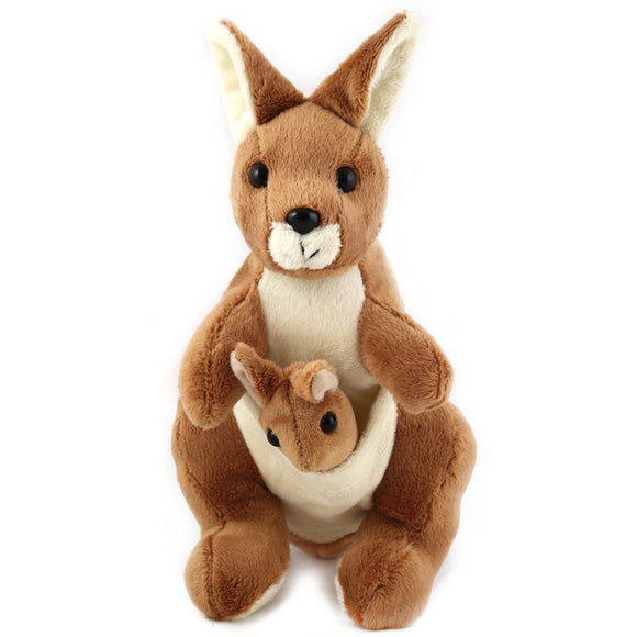 28cm Kangaroo Cuddly Plush Toy suitable for all ages