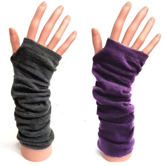 Knitted Long Gloves for Winter