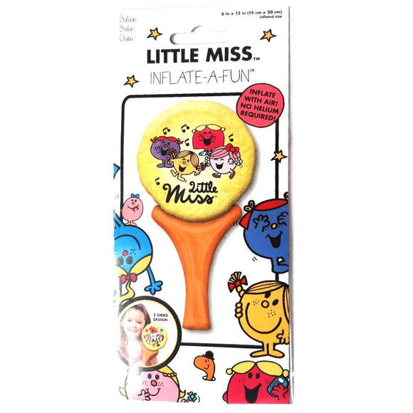 Pack of 10 Little Miss Sunshine Balloons - No Helium Required