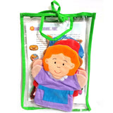 Little Red Riding Hood Learning Resource Hand Puppet Set