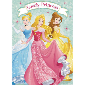 Hallmark Lovely Princess Birthday Card