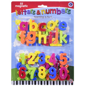 Magnetic Letters and Numbers Set