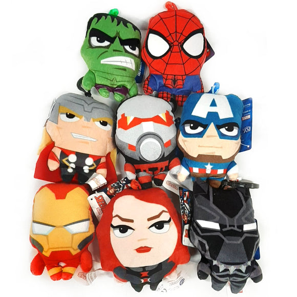 Marvel Avengers Soft Toy Bag Clips