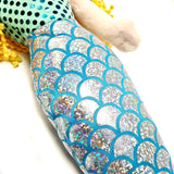 Close up of Mermaid soft toy