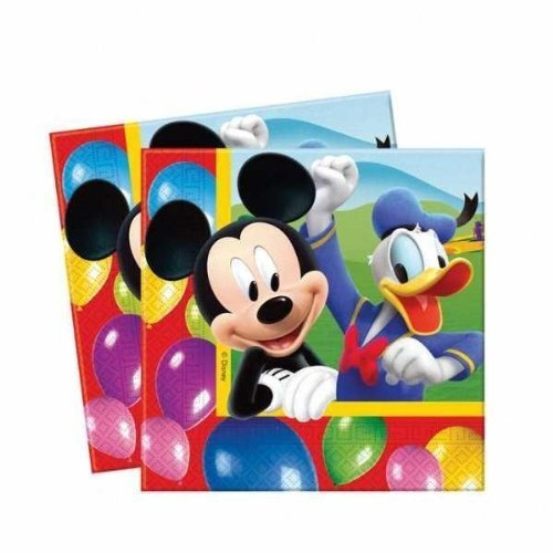 Mickey Mouse Party Time Pack of 20 Napkins