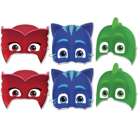 6 Pack PJ Masks Party Bag Filler Favor Pocket Money Gift Toy