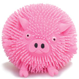 Pink Pig Puffimal Sensory Pocket Money Toy