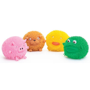 Puffimal Puffer Animal sensory Pocket Money Toys