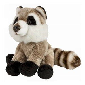 15cm Raccoon Cuddly Plush Toy, suitable for all ages
