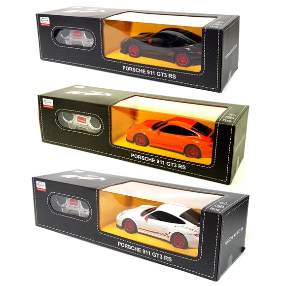 Radio Remote Control Porsche 911 GT3 RS 1/24 scale 3 colours