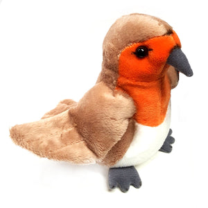 12cm Robin red Breast Cuddly Plush Soft Toy Christmas Decoration