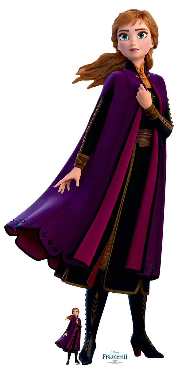 Anna Arendelle Lifesize Cardboard Cutout
