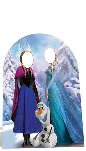 Frozen Stand-In Cardboard Cutout Child Sized Perfect for fans of the Frozen Movies