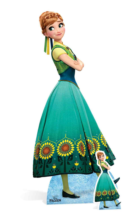 Anna New (Frozen Fever) Lifesize Cardboard Cutout