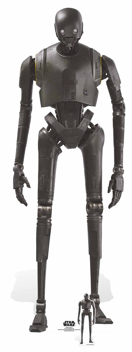 Star Wars K-2SO (Rogue One) Security Droid Lifesize Cutout