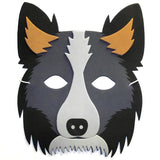 Collie Sheepdog Children's Party Masks great for School and World Book Day