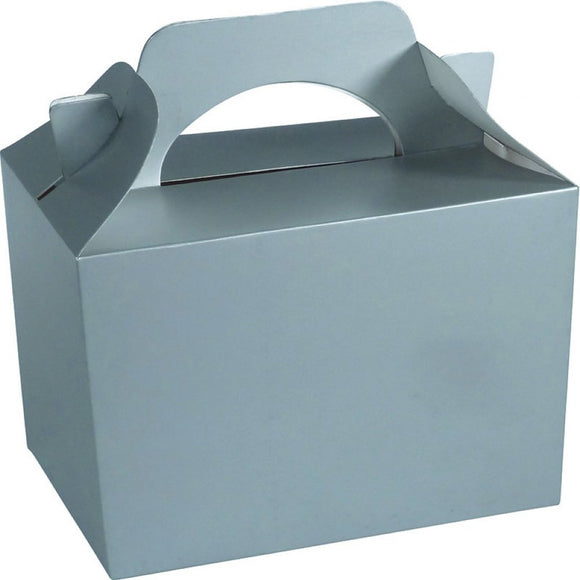 Silver Party Food Cake Gift Toy Favor Boxes