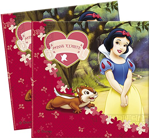 Disney Snow White Paper Party Napkins